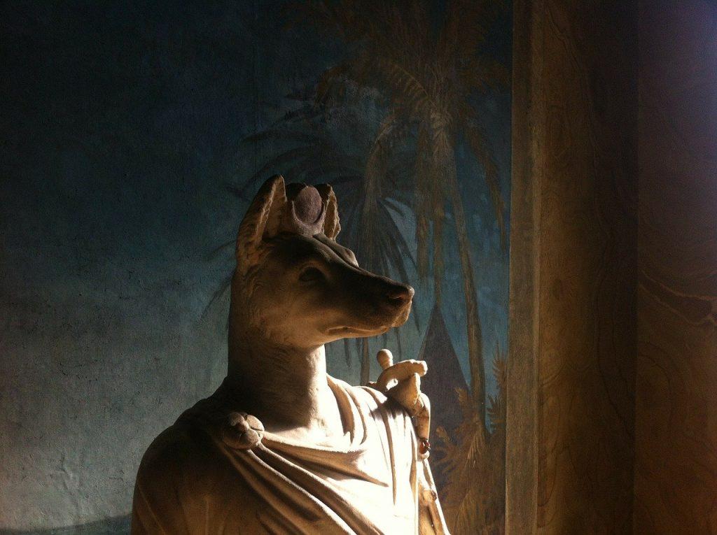 Anubis Heykeli - Mısır Müzesi - Vatikan