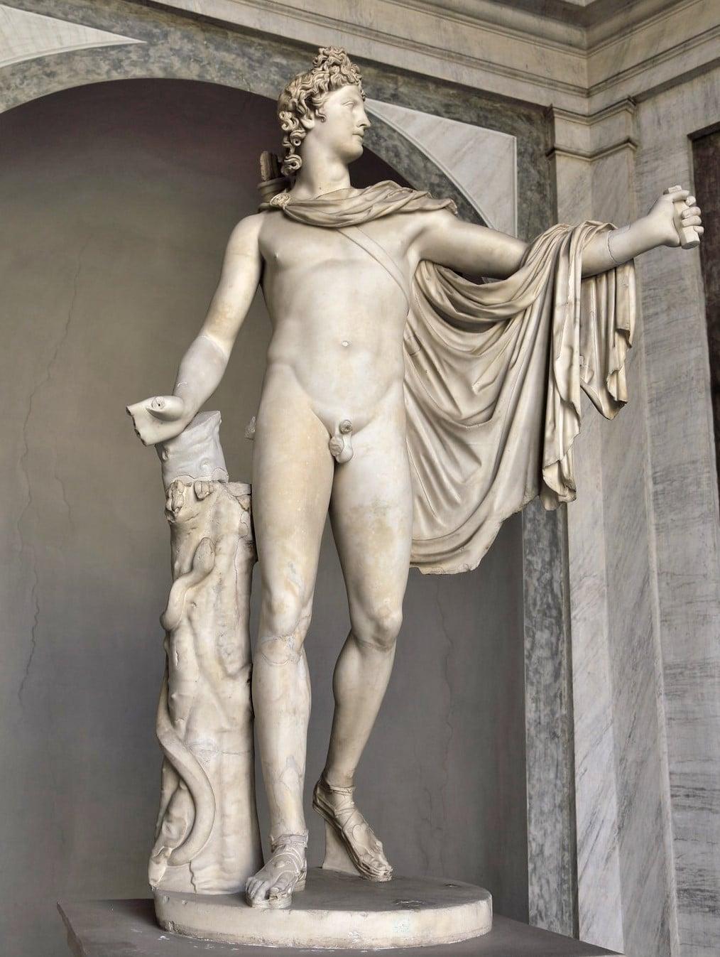 Apollo Belvedere heykeli