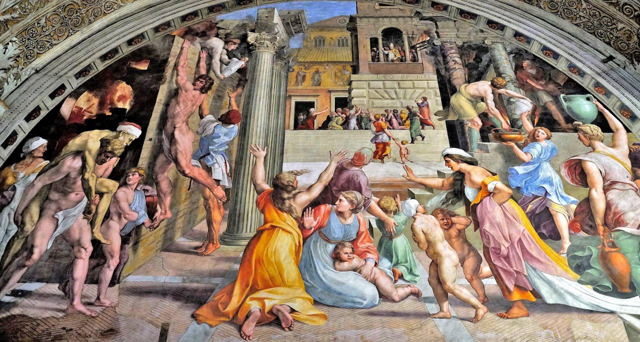 Raphael Odaları - Vatikan Müzeleri