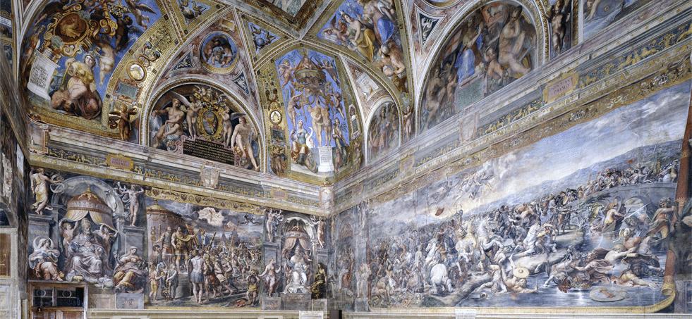 Konstantin Salonu - Raphael Odaları