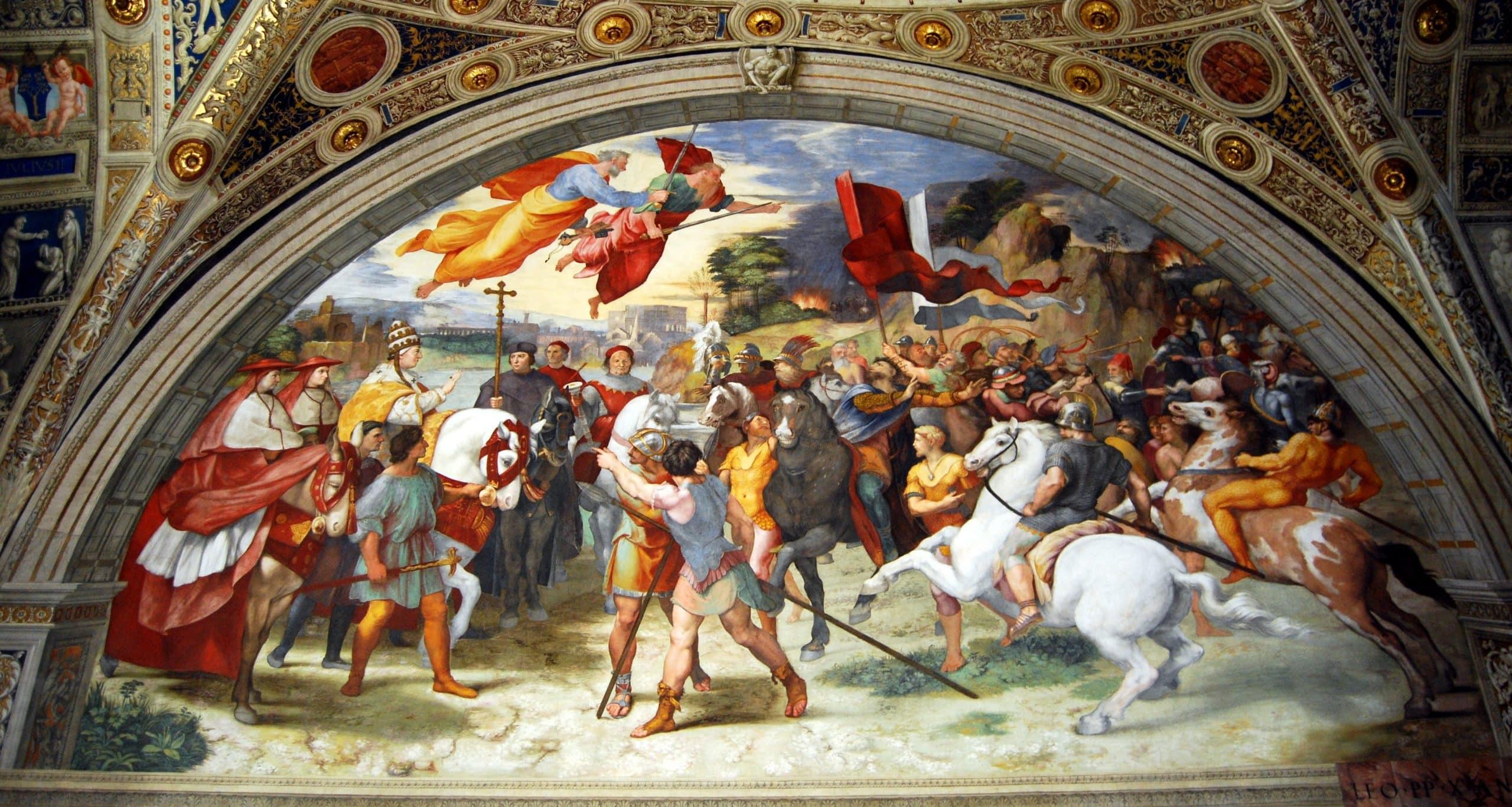 Raphael Odaları - Vatikan Müzesi