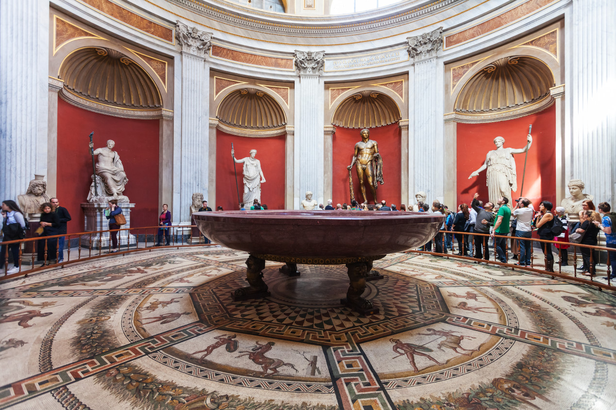 Sala Rotunda - Vatikan Müzesi & Musei Vaticani