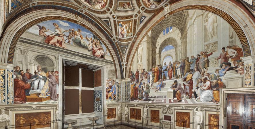 Stanza della Segnatura (İmza Odası) - Genel Görünümü