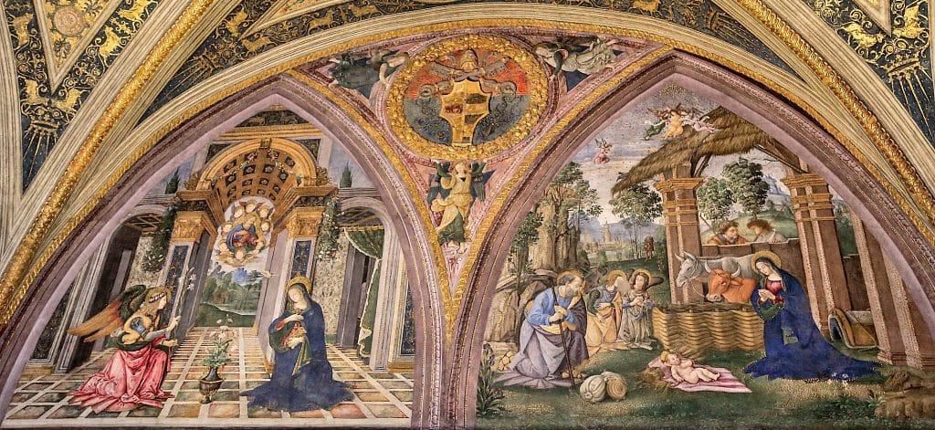 Vatikan Borgia Daireleri