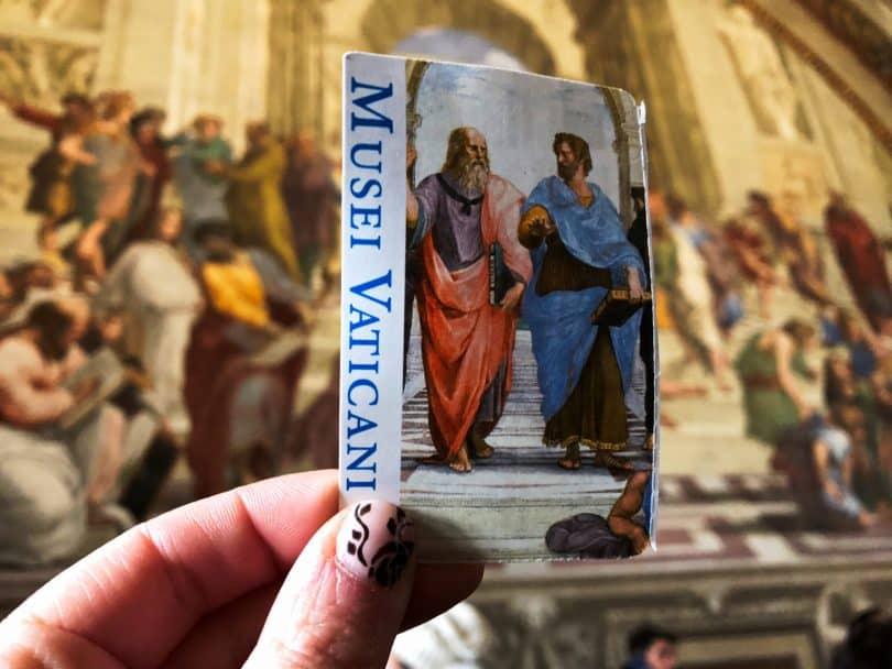 Vatikan Müzesi Bileti ve Raphael Odaları