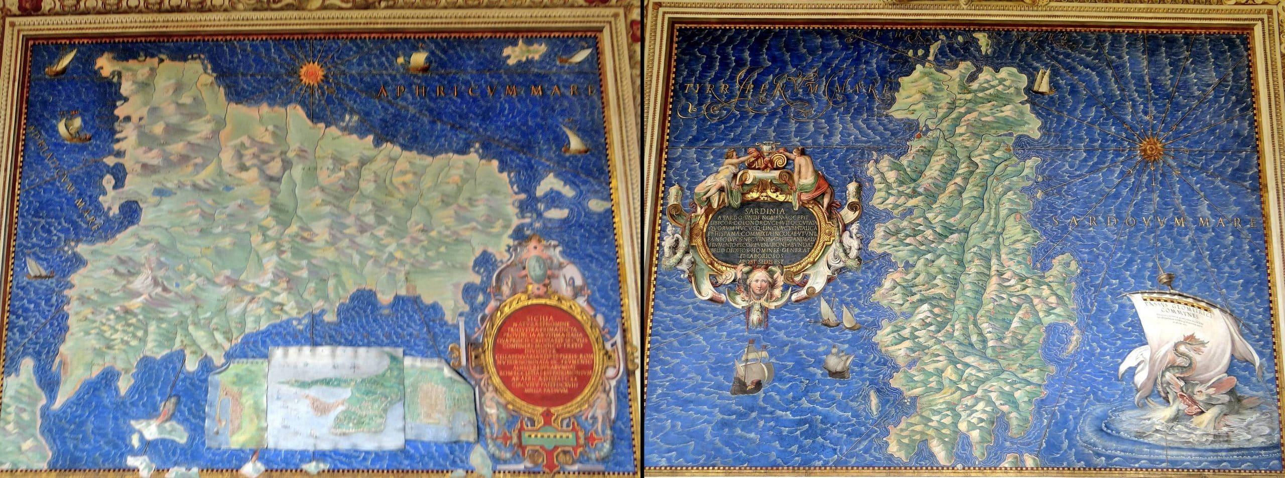 Vatikan Müzesi Haritalar Galerisi