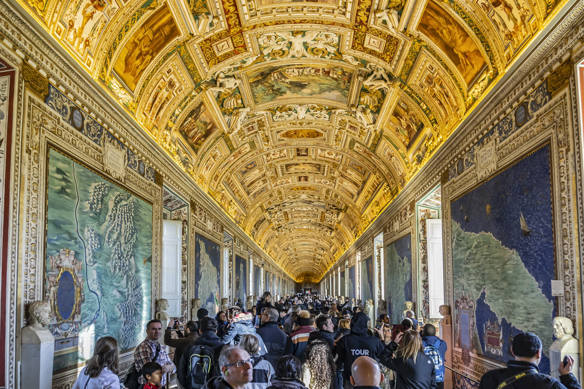 Vatikan Müzesi - Haritalar Galerisi
