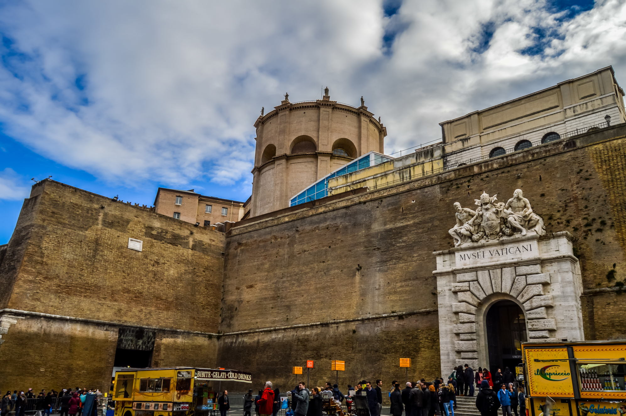 Vatikan Müzesi giriş kapısı