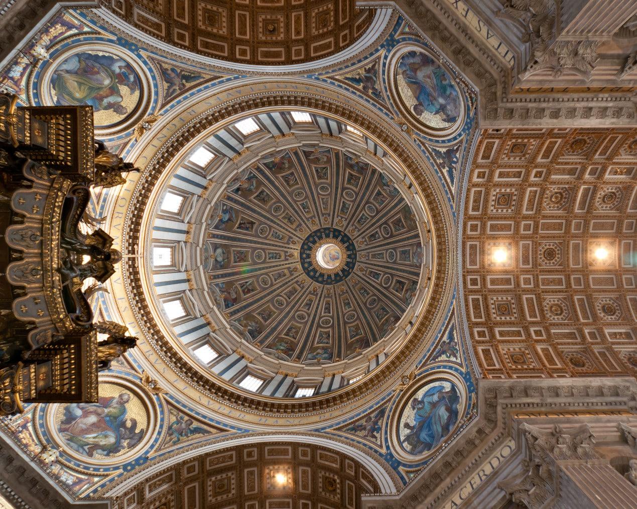 Vatikan Turu - Aziz Petrus Bazilikası'nın Kubbesi