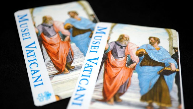 Vatikan Müzesi Bileti